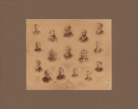 Composite photograph of Law Faculty and Class of 1894