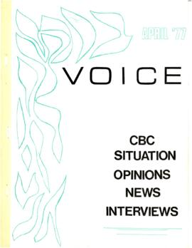 Voice, no. 2 : [newsletter of the Gay Alliance for Equality]
