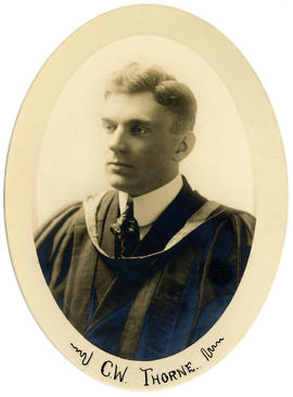 Portrait of Clarence William Thorne : Class of 1918