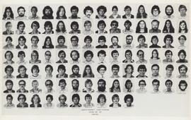 Composite photograph of the Faculty of Medicine - Third Year Class, 1976-1977