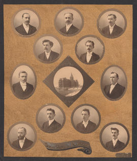 Composite Photograph of the Faculty of Medicine - Class of 1898