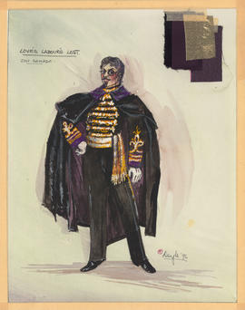 Costume design for Don Armado