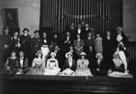 Photograph of Dalhousie University Theatre group
