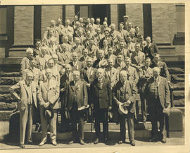 Photograph of Medical Society of Nova Scotia annual meeting, June 1935