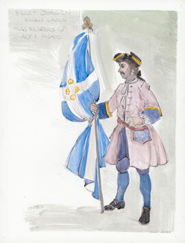 Costume design for Flagbearers : Act 1