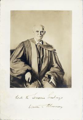 Photograph of a painting of Walter Murray