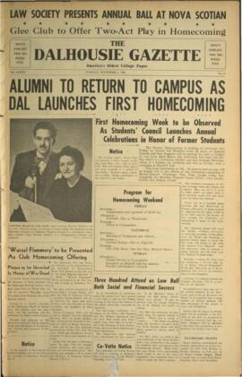 The Dalhousie Gazette, Volume 82, Issue 11