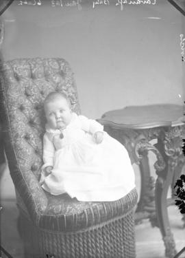 Photograph of Mrs. Howard Cavanagh's baby