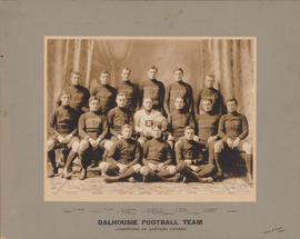 Photograph of Dalhousie football team