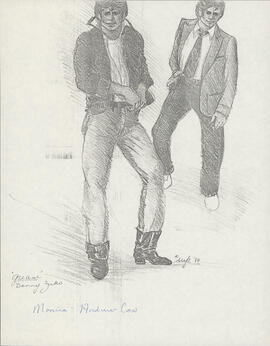 Costume design for Danny Zuko