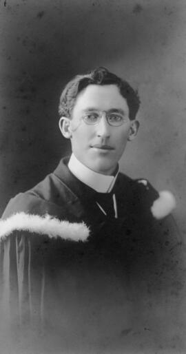 Photograph of John C. McLennan : Class of 1910
