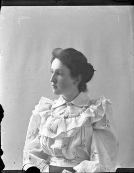 Photograph of Miss Newcombe