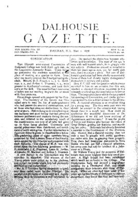 Dalhousie Gazette, Volume 10, Issue 12