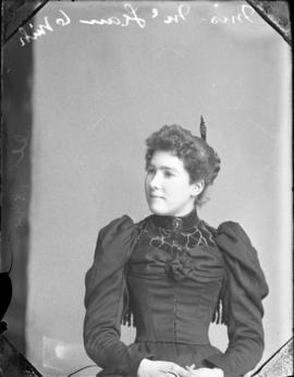 Photograph of Miss McLean