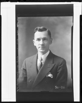 Photograph of Mr. Robert Anderson Jones Bethune