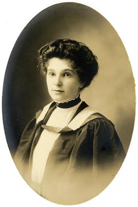 Portrait of B. Angela Bober : Class of 1910