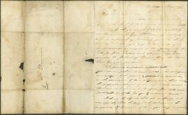 A letter from Cylus Irwin to James Dinwiddie