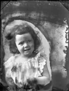 Photograph of Mrs. Kennedy's daughter
