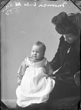 Photograph of Mrs. Morrison's baby