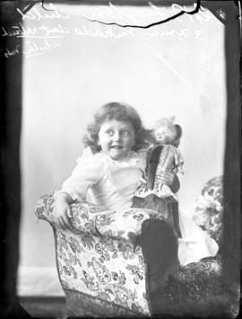 Photograph of  G. B. Layton's daughter