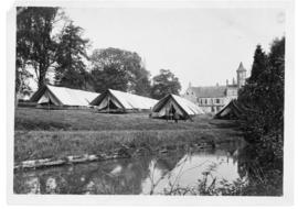 Tents in Arques, France
