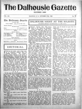 The Dalhousie Gazette, Volume 52, Issue 15