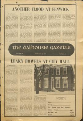 The Dalhousie Gazette, Volume 106, Issue 21