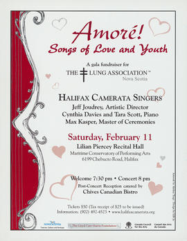 Amore : songs of love and youth : [poster]