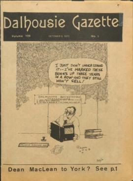 The Dalhousie Gazette, Volume 106, Issue 5