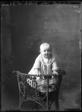 Photograph of the baby of Mrs. Mitchell