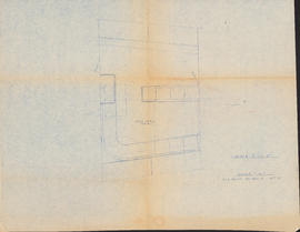 "Arggt. ""C"" : [drawing of main cabin layout]"