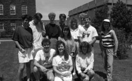 Photograph of students a summer orientation