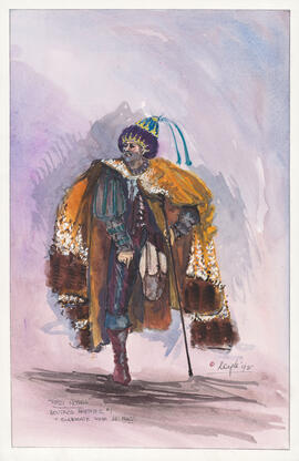 Costume design for Boutros Brother #1