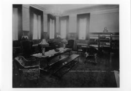 Photograph of the Shirreff Hall library and study room