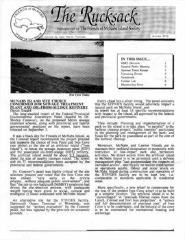 The rucksack : Newsletter of the Friends of McNabs Island Society