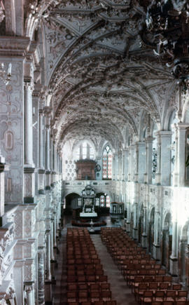 Photograph of the chapel inside Frederiksborg Castle (Slotskirke)