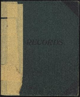 """Income Book, Thomas H. Raddall Sr.: 1946-1985 incl."" notebook."