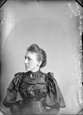 Photograph of Miss Sinclair