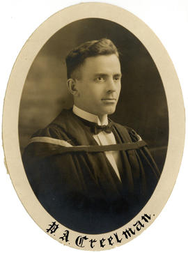 Portrait of Prescott Archibald Creelman : Class of 1925
