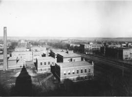 Photograph of hospitals around the Dalhousie medical school