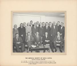 Photograph of Medical Society of Nova Scotia - Executive Committee