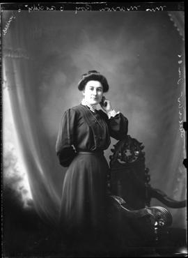 Photograph of Mrs. Marion Roy