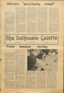 The Dalhousie Gazette, Volume 106, Issue 10