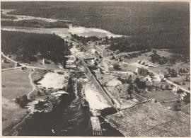 Photograph of an aerial view of Sheet Harbour