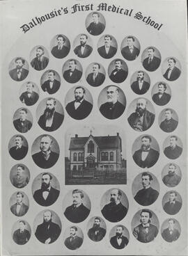 Photograph of Dalhousie's First Medical School