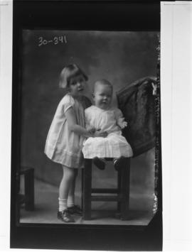 Photograph of the children of Mrs. Gregor McLeod