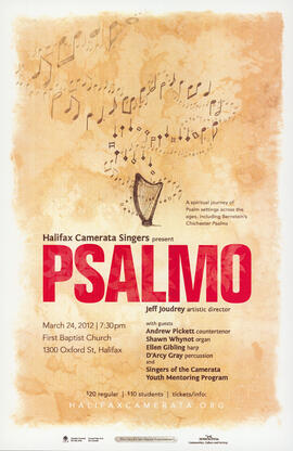 Psalmo with guests : [poster]