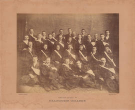 Photograph of Dalhouise College Senior Class of 1894