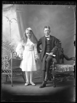 Photograph of the children of Mrs. McDearmid