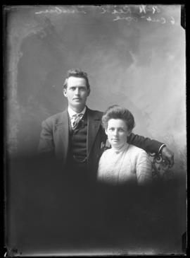 Photograph of Mr. R.H. Reid & a lady friend